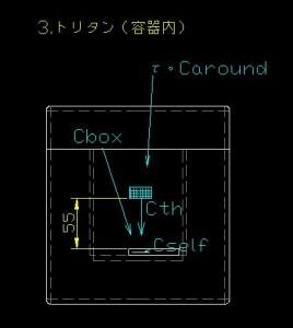 トリタン計測(容器内)