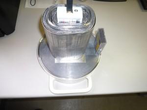 Cs137 線源の鉛遮蔽能試験